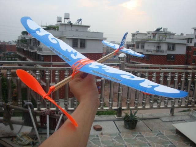 雷鸟橡皮筋飞机模型
